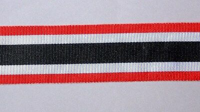 12 inch or 36 inch length Full Size GERMAN WWII WAR MERIT CROSS Medal Ribbon