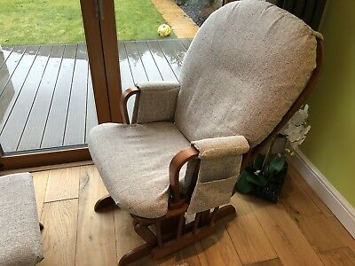Shermag Glider Chair and Footstool