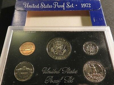 1972 United States Proof Set In Excellent Condition