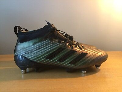 Adidas Predator Flare SG Size UK10 44 2/3 rugby/football Boots
