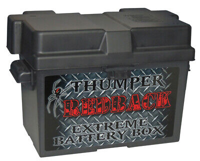 Thumper Batery Box for Solar , Electric Fenc , AGM Deep Cycle 12v 24v Batteries