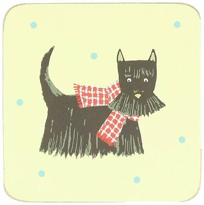 Ulster Weavers 4 Coaster Mats Hound Dog Collection Scottie Dalmation Terrier