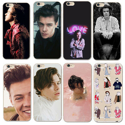 Silicone cases for iPhone 5/5S/SE 6/6S 6+/6S+ 7/7+ HARRY STYLES / One Direction