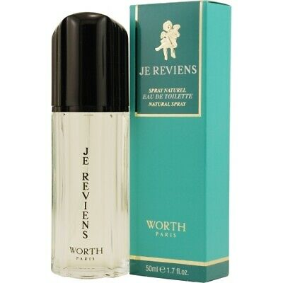 Worth Je Reviens Eau De Toilette Spray 50ml Womens Perfume