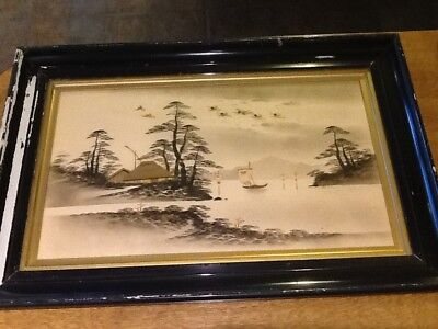 Antique Victorian /Japanese pictures