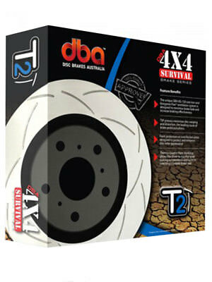 1 x DBA T2 Slotted Rotor FOR TOYOTA LAND CRUISER BJ4_ (DBA151S)