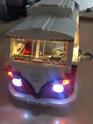 LED Light Licht für Lego Volkswagen T1 Campingbus VW Bus (10220)