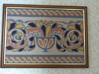 Tapestry In Wooden Frame