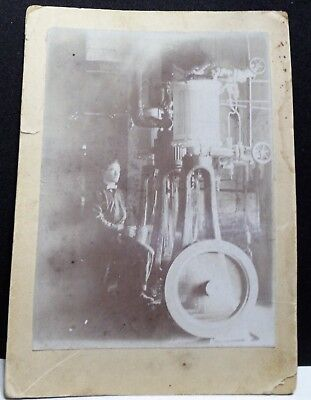 Vintage American ice making machinery photograph