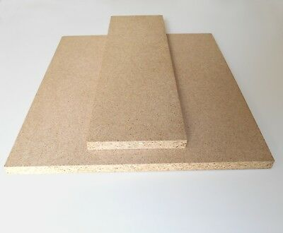 18mm CHIPBOARD BOARDS - STRONG, IDEAL FOR SHELVING - VARIOUS SIZES - Offcut