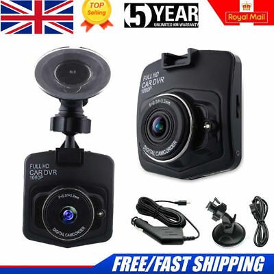 "Car DVR 2.4"" 1080P Camera Dash Cam Black Night Vision G sensor Video Recorder UK"