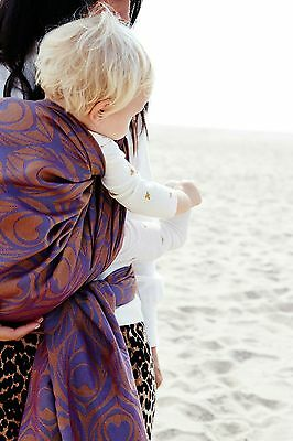 Artipoppe stunning limited baby wrap river bank size 4