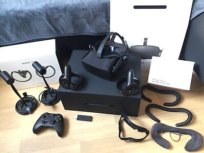Oculus Rift CV1 + Touch Controller + VR Cover (alle in OVP)