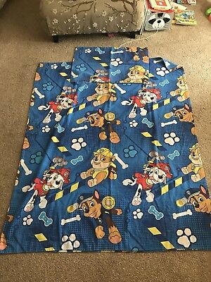Paw Patrol Toddler Cotbed Bedding Duvet Cover Set Rubble Marshall Chase