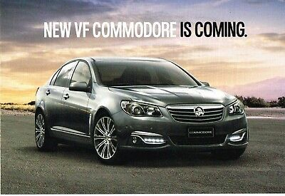 Holden Commodore Vf Postcard Brochure 2013 Ad13203 Excellent Condition