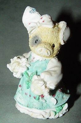 "Mary's Moo Moo's This Little Piggy  "" Sow In Love"" Enesco 159514"