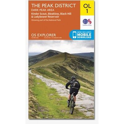 Explorer Maps: The Peak District - 2 map set OL1 and OL24