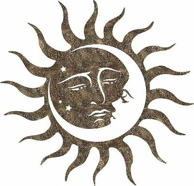 DXF CNC dxf for Plasma Sun Moon CS#9 Man Cave Wall Art Home Decor