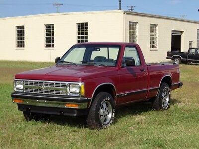 1992 Chevrolet S-10 SHORT BED-LIKE 82 83 84 85 86 87 88 89 90 91 93 94 1992 Chevrolet S10-LOW MILES WITH 1 OWNER 4X4 FROM NORTH CAROLINA-MINT TRUCK