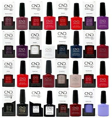 CND shellac UV Nail Polish Pick From 144+ Colours, Nude, Chic & Boho Collection