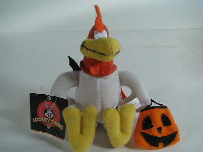 "Looney Tunes Foghorn Leghorn 8"" Plush Toy w Tags  - Halloween  Play by Play"