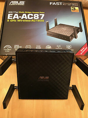 ASUS EA-AC87 Wireless AC1800 Access Point/ Media Bridge