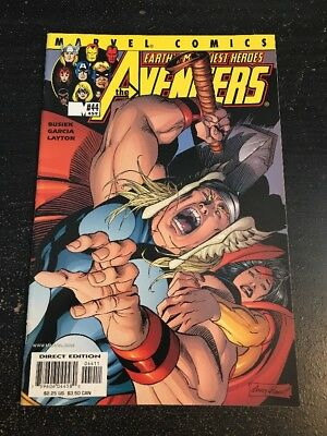 Avengers#44 Incredible Condition 8.5(2001) Andy Kubert Cover!!