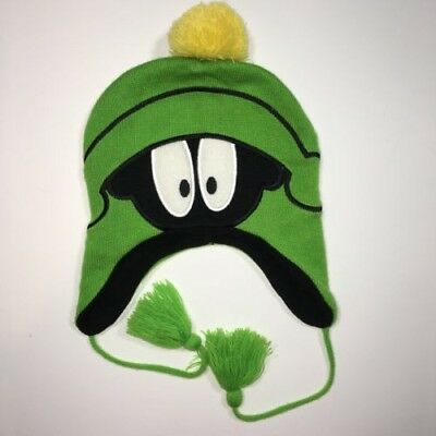 WB Marvin The Martian Warner Brothers Winter Hat Cap