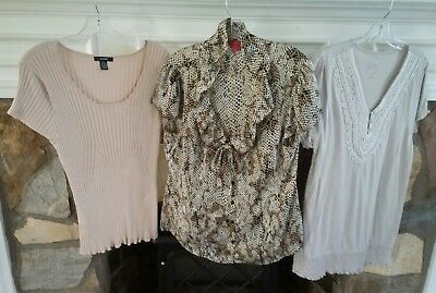 Lot of womens tops/ shirts size XL- Lot F44