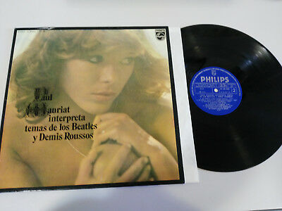 "Paul Mauriat Interpreta Temas The Beatles Demis Roussos Lp Vinilo 12"" Vg/Vg 1975"
