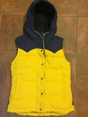 Women's Patagonia Bivy Hooded Down Vest Small