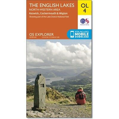 Explorer Maps: The Lake District & Howgills - 5 map set OL4, OL5, OL6, OL7,OL19