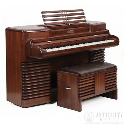 1939 RCA STORYTONE PIANO vintage tube amplified electric piano