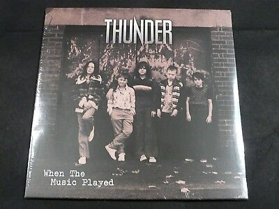"""Thunder - When The Music Played 10"""" Vinyl - New"""
