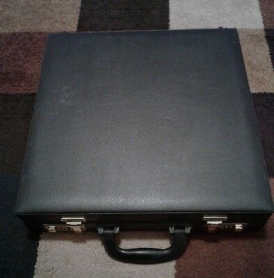 Jewelry Carrying Case Briefcase. Display Case