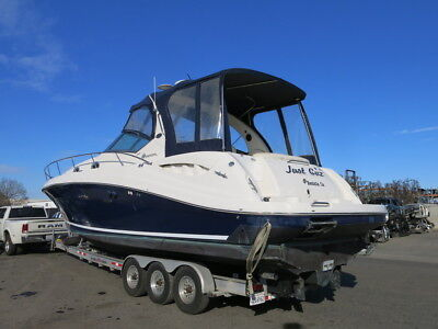 2004 Sea Ray Sundencer 340 cruiser damaged wrecked project Clean Title boat 04