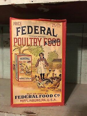 Federal Poultry Food