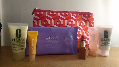 Clinique Bonus Time / Jonathan Adler Gift Set and Cosmetics Bag - BRAND NEW