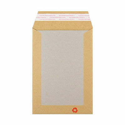 190mm x 140mm A6+ C+ Board Backed Envelope Cheapest for CDs Please Do Not Bend