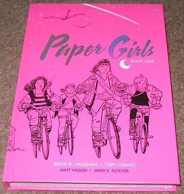 PAPER GIRLS BOOK ONE Hardcover Graphic Novel (Brian K. Vaughan; Image Comics)