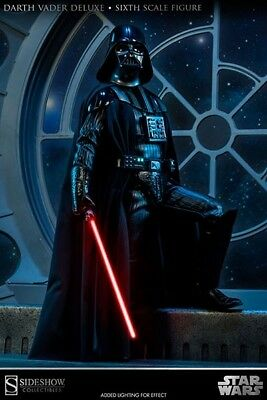 Sideshow Star Wars Deluxe Darth Vader Figure 12 inches 1:6 scale