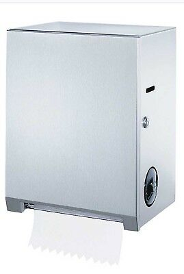 Bobrick Model 2860 Surface Mounted Roll Towel Dispenser Stainless Steel NEW