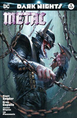 Dark Nights Metal #5 Dc Comics Gabrielle Dell'otto Variant