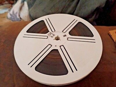 Large Eight Inch, Super 8 S8 Home Movie Film, With Sound Strip ?, Color Kodak