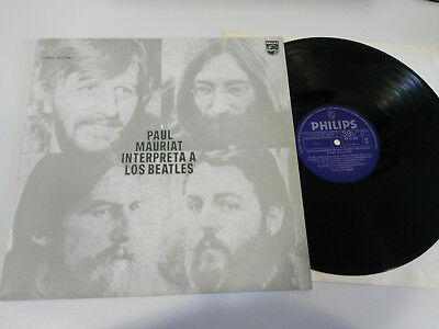 "Paul Mauriat Interpreta A Los The Beatles Lp Vinilo Vinyl 12"" Vg/Vg 1972 Philips"