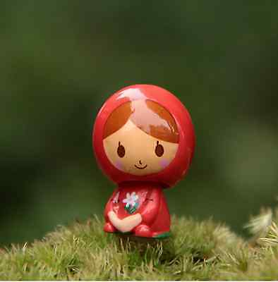 Cute Little red riding hood Cell Phone Earphone Anti dust Jack plug Bubble head