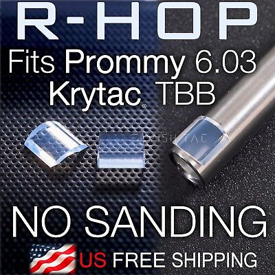 RHOP Fit Prome 6.03 Krytac AEG TBB Barrel NO Sanding Needed R Hop R-Hop US-Made