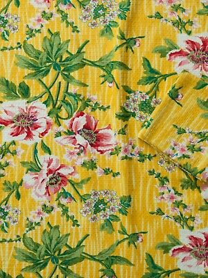 April Cornell Tea Towel Ming Collection NWT 100/% Cotton Yellow Floral