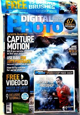 Digital Photo Magazine Issue #210 ~ August 2016 ~ With Free Disc ~ New ~