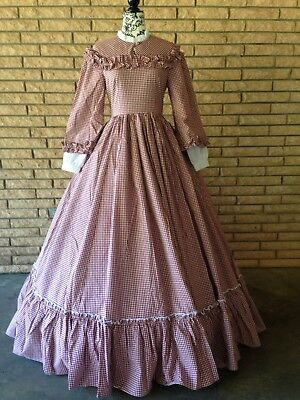 Victorian Choice Civil War Dress M, never worn